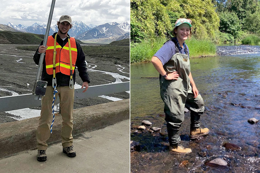 Fish and Rivers: Two NSM Students Intern at NOAA